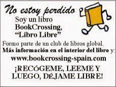 pegatina bookcrossing portada