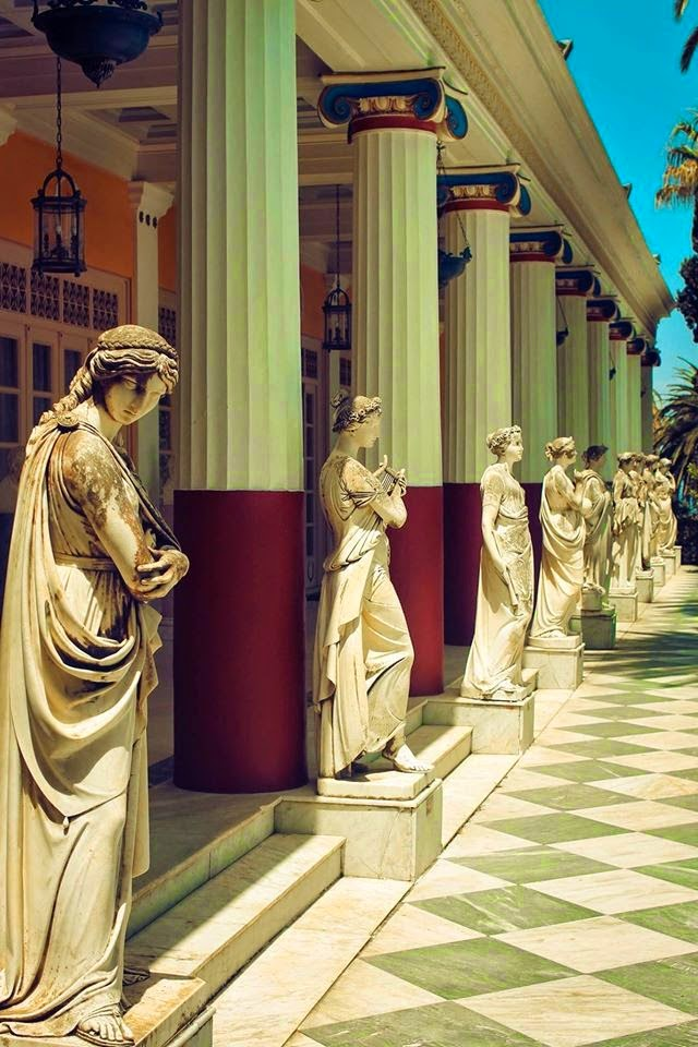 Achilleion Palace Empress Elisabeth