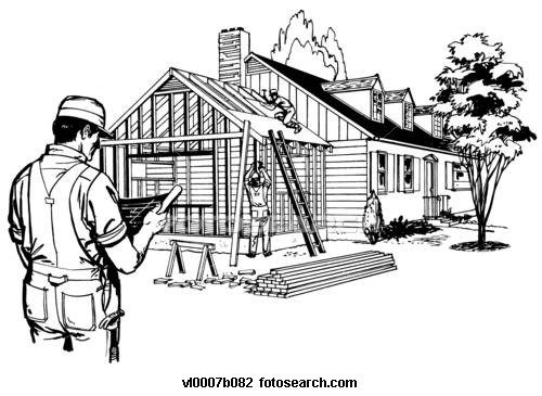 Building A New House Cartoon : The horner house project august