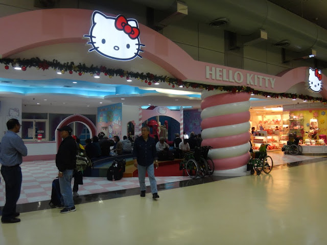 Hello Kitty Terminal at Taoyuan International Airport, Taipei, Taiwan