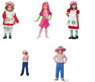 Strawberry Shortcake Costume Toddler  sc 1 st  Haley Talks Children & Haley Talks Children: Strawberry Shortcake Costume For Halloween