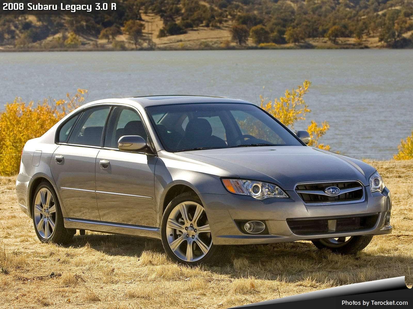 Hình ảnh xe ô tô Subaru Legacy 3.0 R 2008 & nội ngoại thất