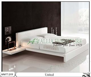 Tempat Tidur Modern Minimalis United Ukuran 160 X 200