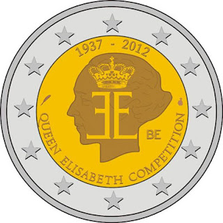 Commemorative Coins: The 75th anniversary of Queen Elisabeth Competition (Belgium)