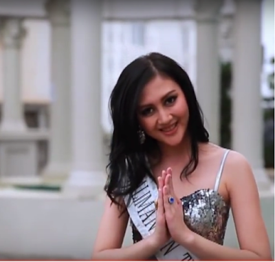 Foto Putty Regina finalis Miss Indonesia 2014