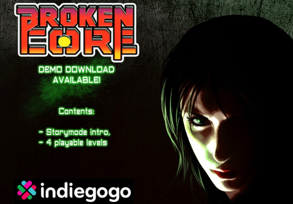 Broken core on IndieGOGO