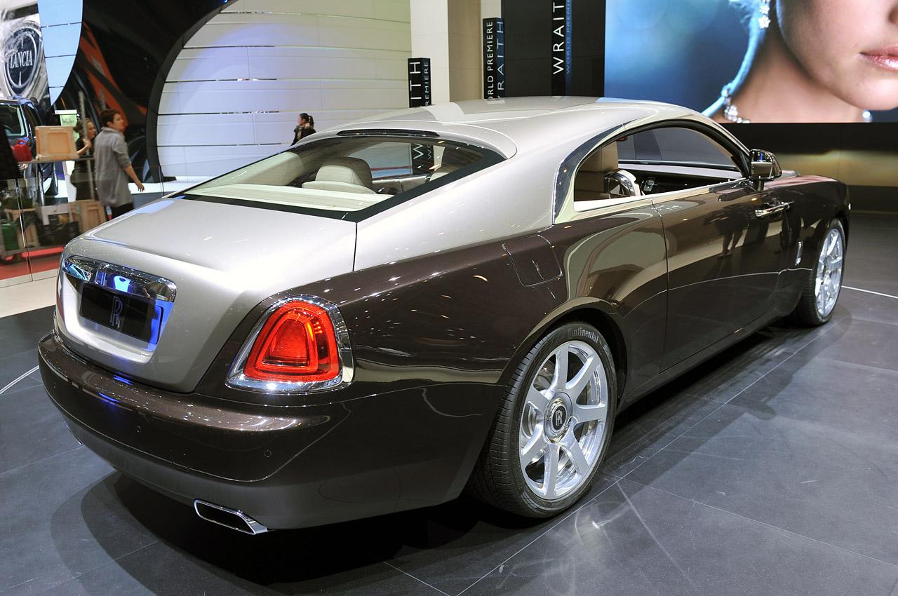 2014 Rolls Royce Wraith: Geneva 2013 Photos
