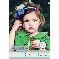 Rosalind Blue Felt Flower Kit