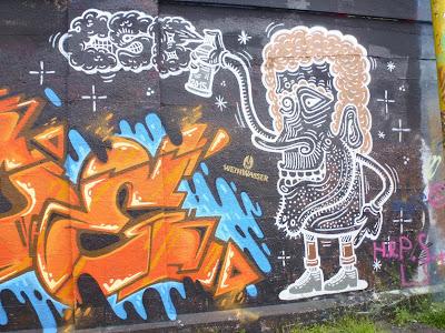 Kürls an der Tumblingerstraße, Graffiti, Streetart