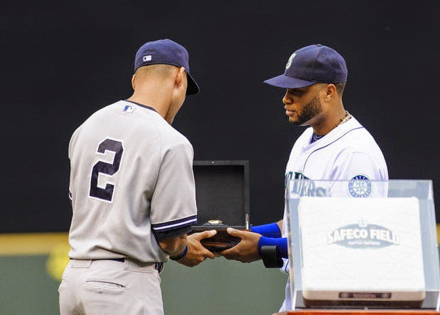 the other paper derek jeter gets personalized watch from