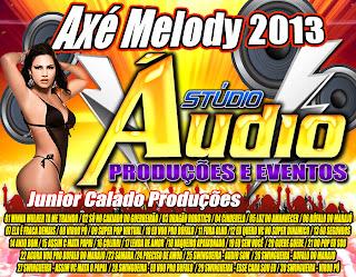 Cd Axé Melody 2013 Vol.1 - Stúdio Áudio Produções de Castanhal Mp3