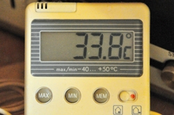 Der bisher heißeste Tag...