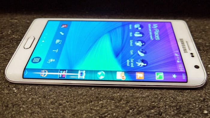 New samsung Galaxy Note Edge coming out