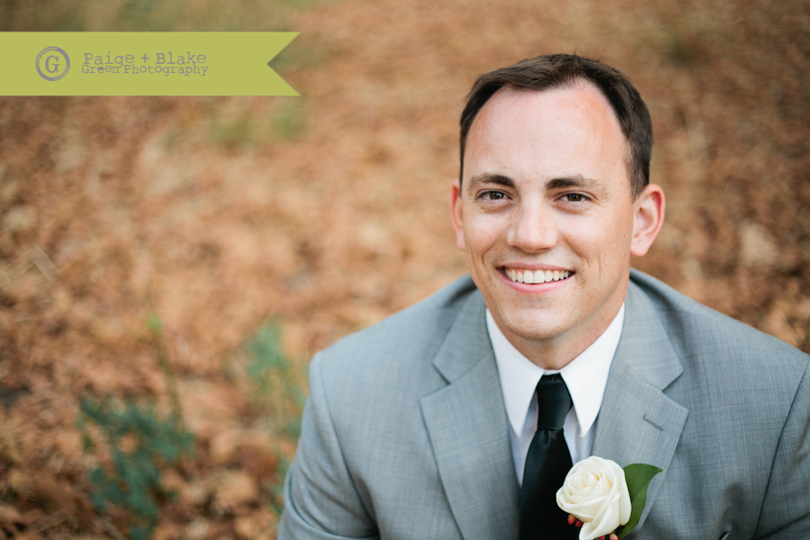 Handsome Groom : Photo by Paige and Blake Green