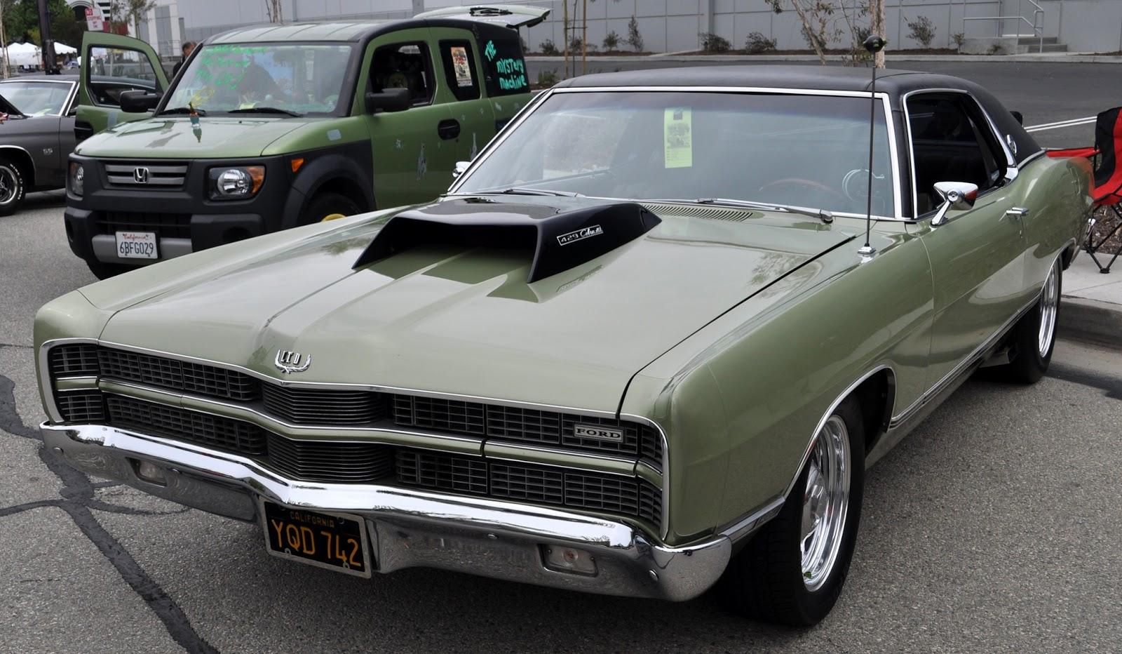car modification: Big 70\'s cars, big scoops... an LTD with a 429 ...