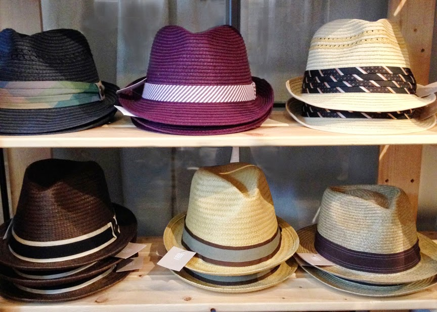 Oat shop for hats and jewelry at 240 Kent Ave in Williamsburg