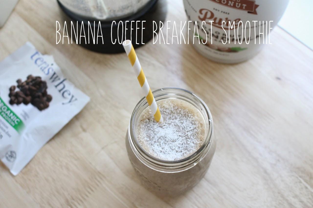 Banana Coffee Breakfast Smoothie