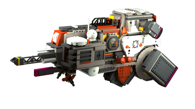 LEGO space ship