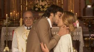 Anibal e Rita bacio Il segreto