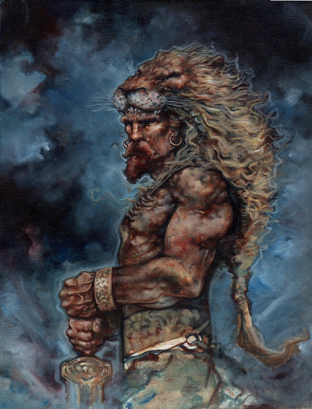 Hercules, Fantasy Artwork© Jeff Lafferty 2014