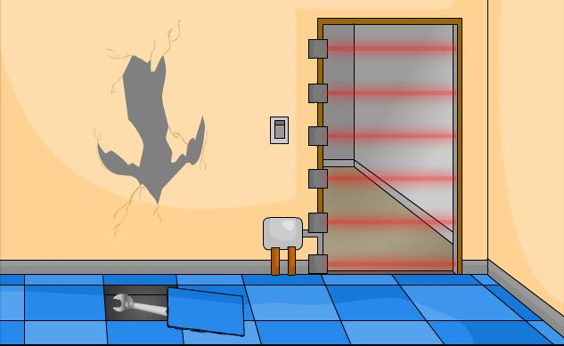 The Great Bathroom Escape Notdoppler solved: escape the bathroom walkthrough