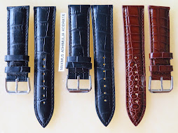 LEATHER STRAP 22mm - 20mm - 18mm