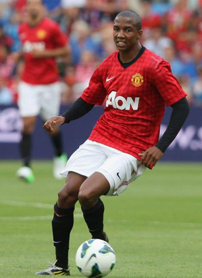 Ashley Young Man Utd 2012