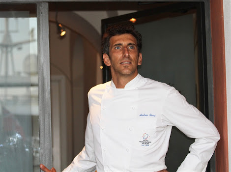 "Guardando ""ancora pi a ponente"", ristorante Agrodolce, chef Luca Sarri"