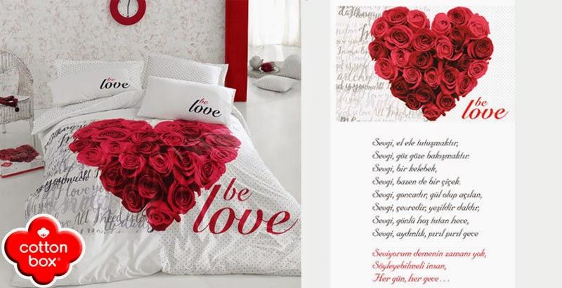 COTTONBOX BE LOVE SEVGİLİLER GÜNÜ ÖZEL NEVRESİM