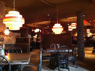 Psycho Suzi's Dining Area
