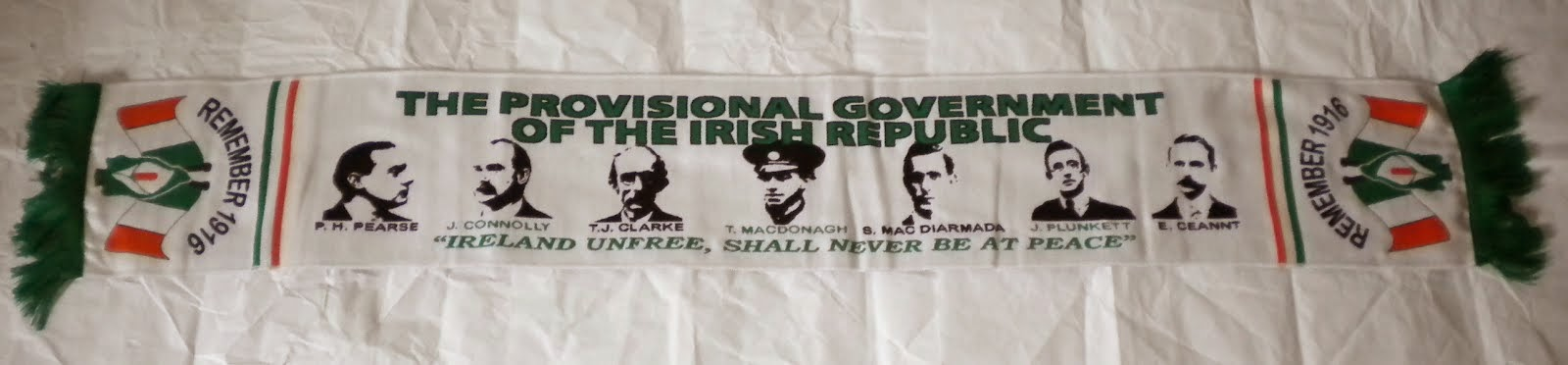 Bufanda Provisional Government - Irish Republic - 15€