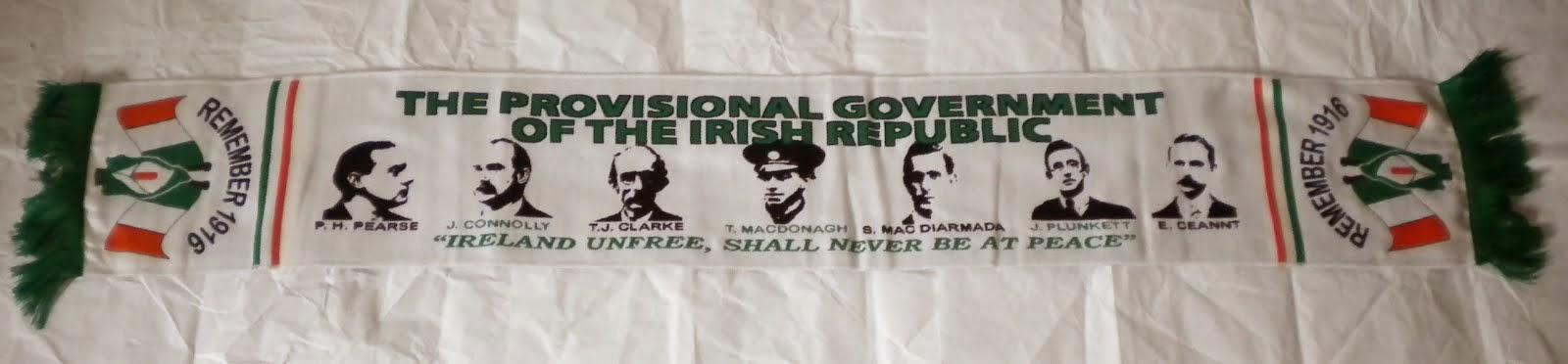 Bufanda Provisional Government - Irish Republic - 15€