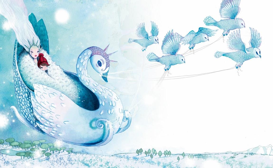 Anne cresci illustration freelance illustratrice lyon - Raine des neige ...