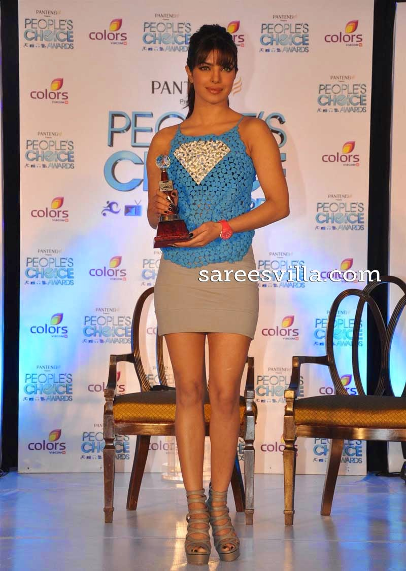 Priyanka Chopra Ponytail Hairstyle