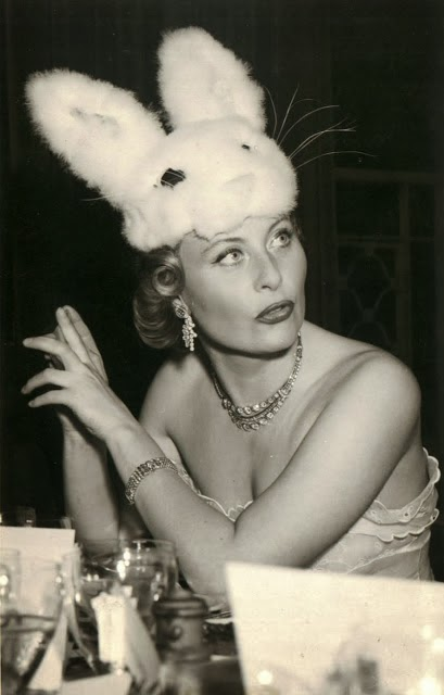 Fetish Inspirations : Michèle Morgan in Bunny Hat 1951
