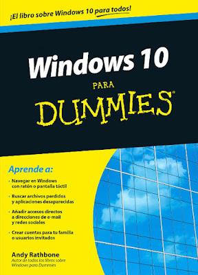 LIBRO - Windows 10 para Dummies  Andy Rathbone (22 Septiembre 2015)  MANUALES | Edición papel & ebook kindle  Comprar en Amazon España