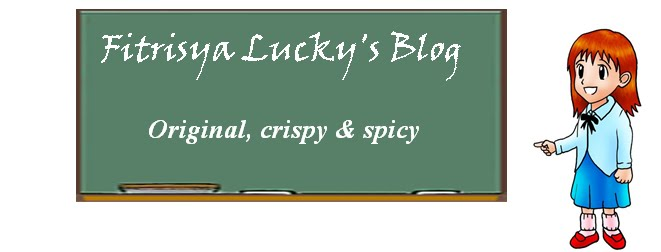 Fitrisya Lucky's Blog