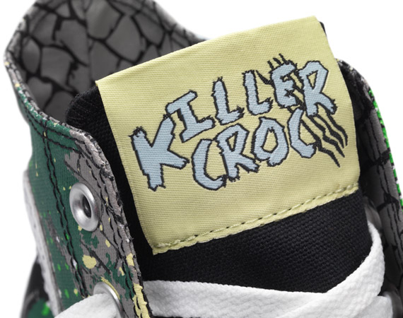 DC Comics и Converse Chuck Taylor All Star Low Killer Croc Edition