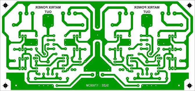 Circuito Impreso De Amplificador De 3000w : Eletrônica campo elétrico amplificador transistorizado