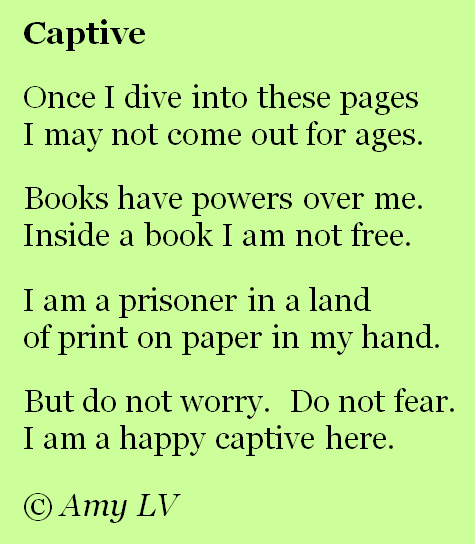 The Poem Farm Captive In A Book Read Poem 236