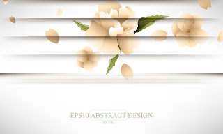   creative shutters style floral background 