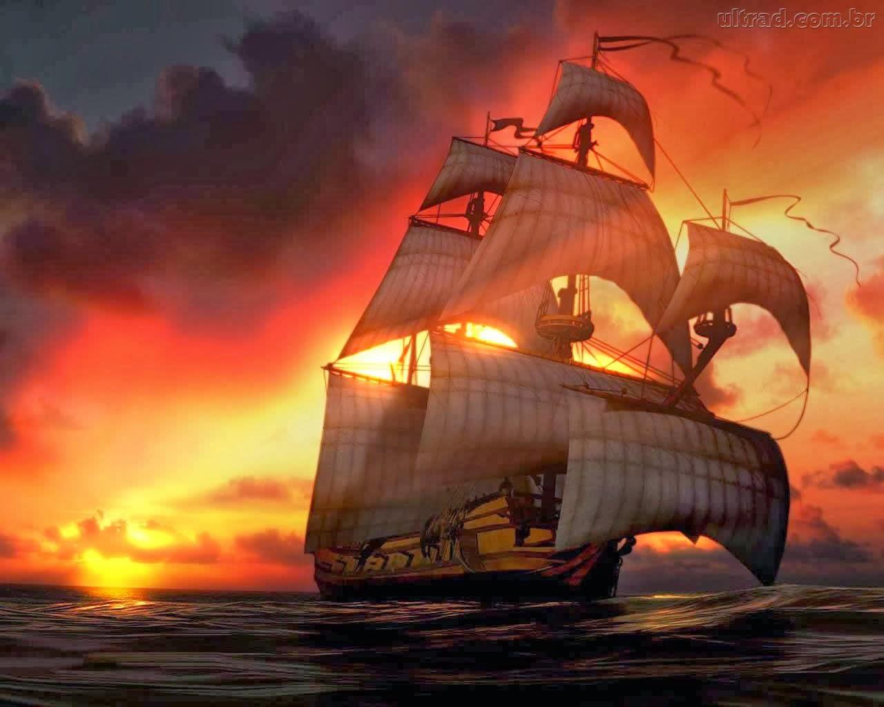 A liberdade é um navio sem âncora... (Daniel Doretto)