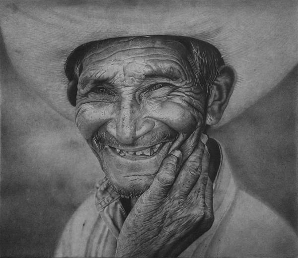 Anyelo Gonzlález Hiperrealismo Dibujo Grafito
