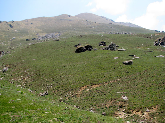 In Syari, looking up to Surya top