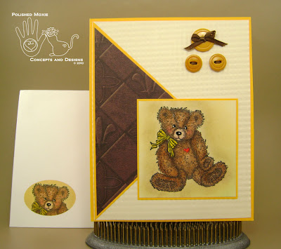 Picture of card and its coordinating envelope