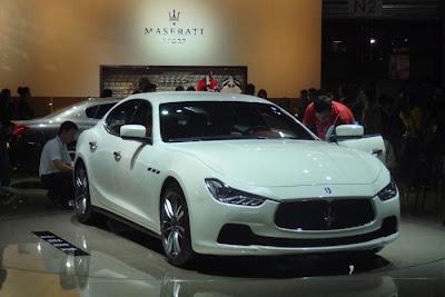 أفضل 10 سيارات  بالمعرض الدولي/ شنغهاي 2013