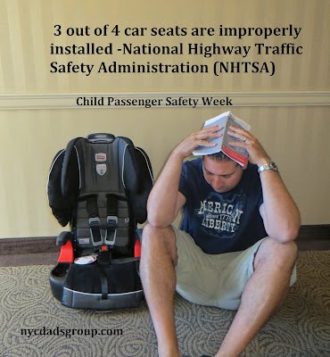 Installing Car Seats Can be Frustrating for Parents