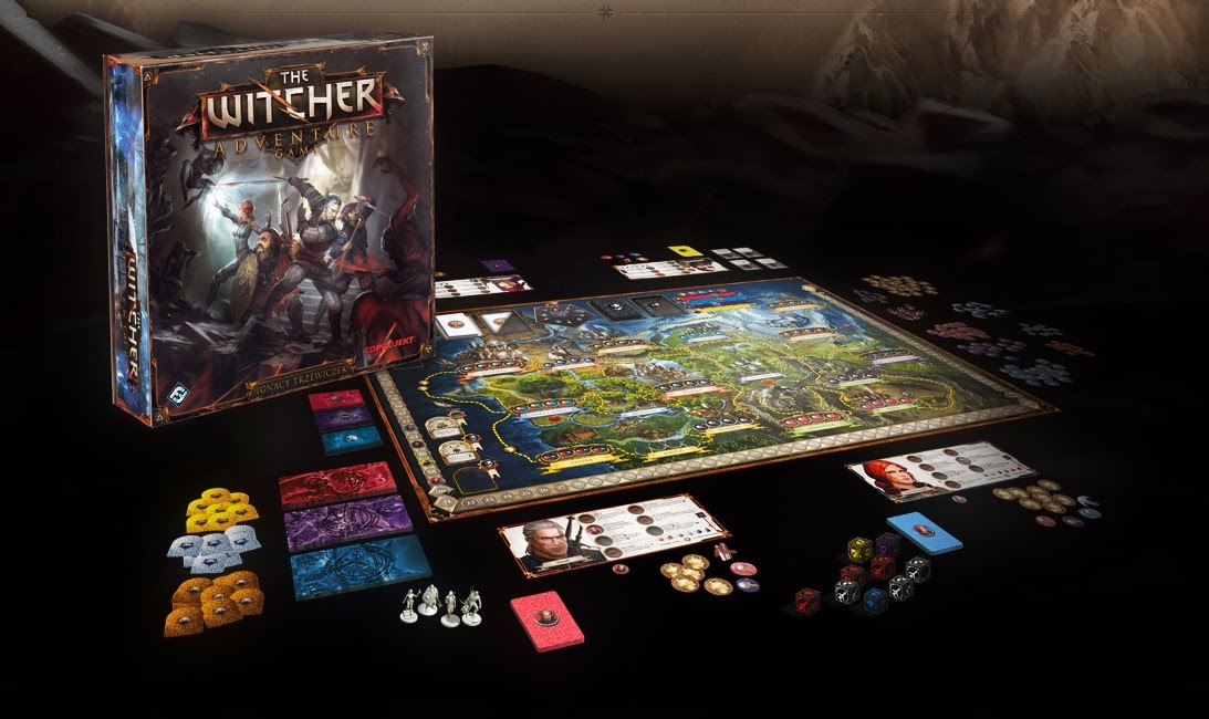 The Witcher the Adventure board game