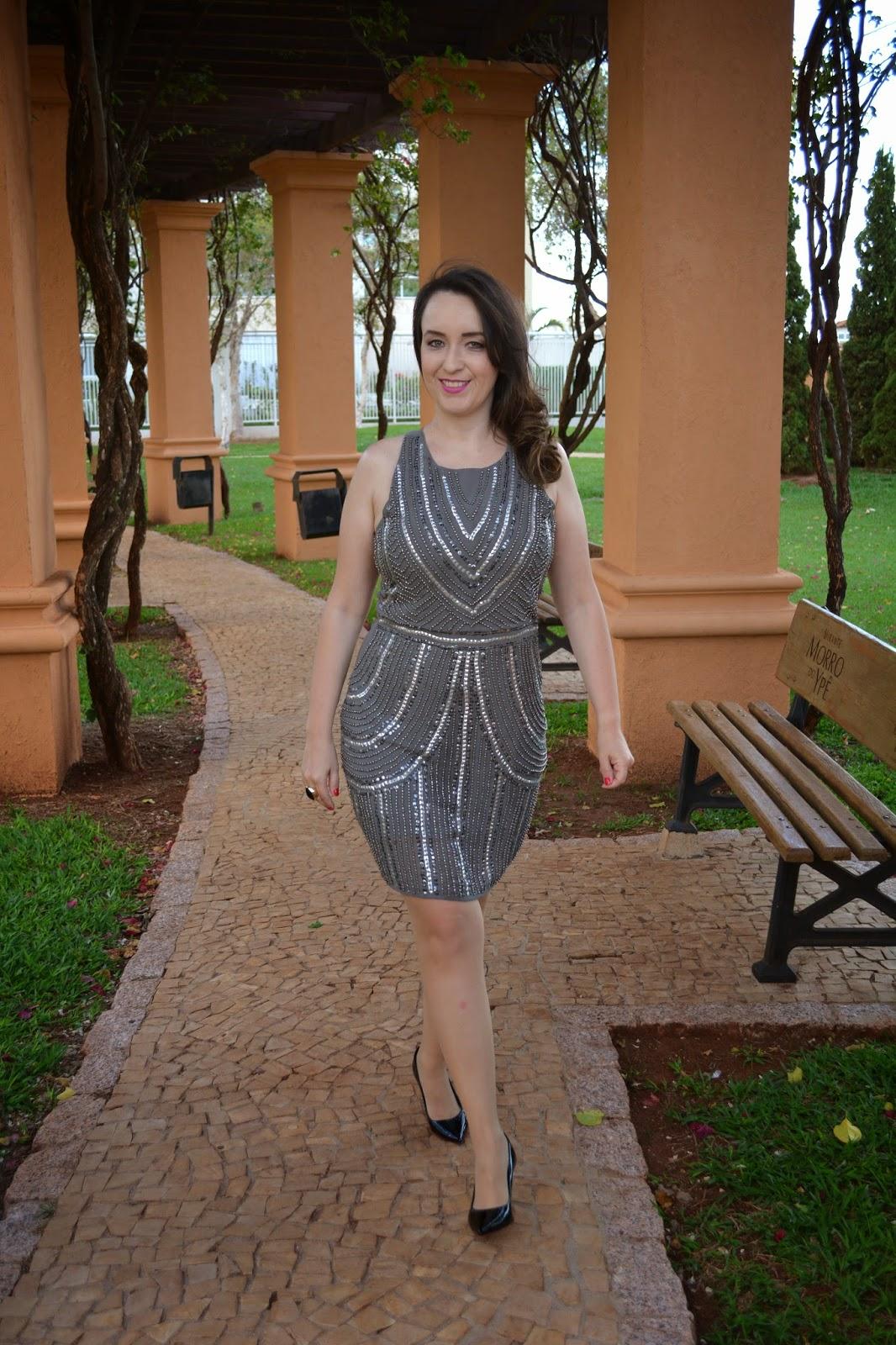vestido bordado, vestido noite, look do dia, look da noite, du jour, vestido com pedrarias, blog camila andrade, blog de moda de ribeirão preto, fashion blogger, pamela zanandrea