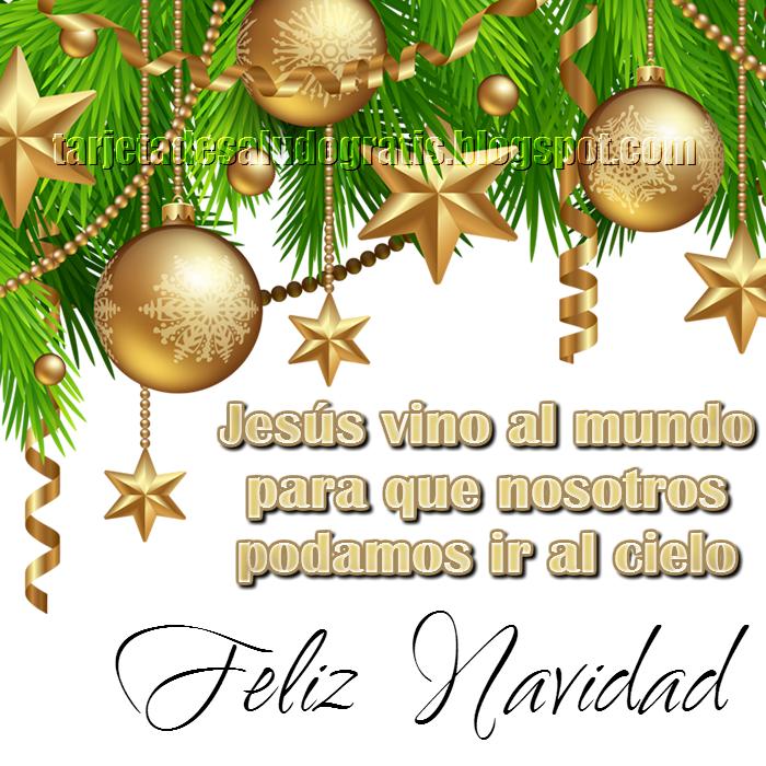 postal cristiana de navidad